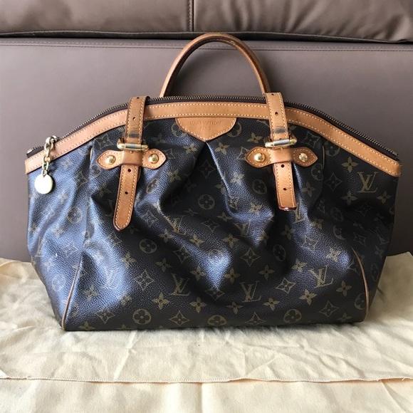 b5aacbf5ad1 Louis Vuitton Handbags - Louis Vuitton Tivoli Satchel  shoulder Bag . Used